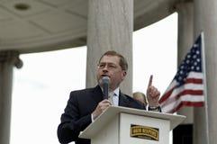 Grover Glenn Norquist 2. Boston, Massachusetts USA - April 2013 -Grover Glenn Norquist founder and president of Americans for Tax Reform speaking at Boston Tea Stock Images