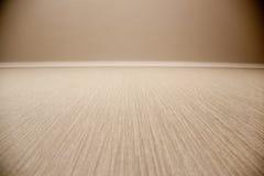 Grovt beige golv för naturligt tyg i perspektiv arkivbilder