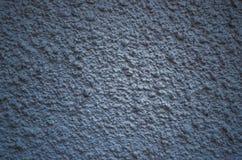Grovt mörker för vägg - blå textur Royaltyfri Bild