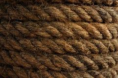 Grovt rep för bakgrund Royaltyfri Fotografi