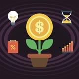 Grow business Stock Photo