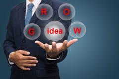 Grow idea Royalty Free Stock Photos