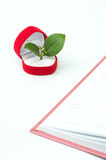Grow. The love will help generate growth Stock Image