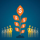 Grow money concept Stock Photography