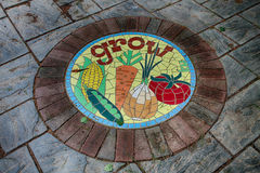 Grow. A Stepping stone in the storybook gardens Royalty Free Stock Photography