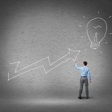 Grow and success concept Stock Photography