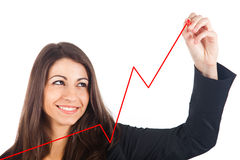 Growing business royalty free stock image