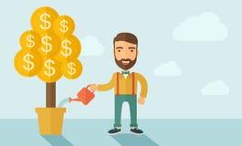 Growing Businessman Stock Image