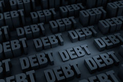 Growing Debt Stock Photography