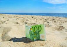 Growing euro. Royalty Free Stock Image