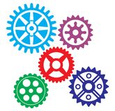 Growing gears Stock Photo