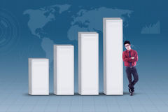 Growing global investment Stock Images