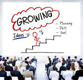 Growing Growth Mission Success Opportunity Concept Stock Photo