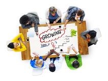 Growing Growth Mission Success Opportunity Concept Royalty Free Stock Images