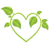 Growing heart Royalty Free Stock Photo