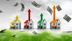 Growing home Stock Photos