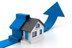 Growing home sales Stock Images