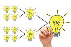 Growing Idea Royalty Free Stock Image