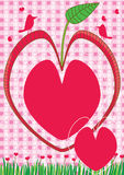 Growing Love Valentines Day_eps Stock Images
