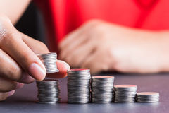 Growing money Royalty Free Stock Image