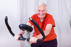Growing old but not getting weak Stock Photography