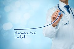 Free Growing Pharmaceutical Market Stock Photo - 103219460