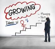 Growing Process Planning Improvement Development Concept Stock Photos
