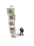 Growing results Royalty Free Stock Image