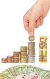 Growing savings concept Stock Photo