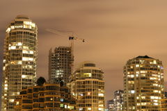 Growing Skyline stock image
