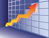 Growing trend Stock Photo