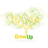 Growing up tree Royalty Free Stock Photography