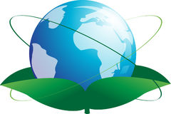 Growing World Globe Royalty Free Stock Image