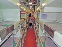 Growler USS: Кварталы экипажа стоковое изображение