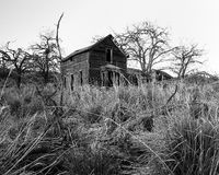 Growls Garden. Old abandoned home well hidden deep in the hills of Grant County, Washington State, USA Stock Image