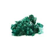 Grown crystal of salt isolated Stock Photography