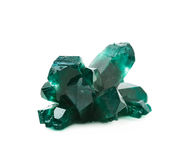 Grown crystal of salt isolated Stock Images
