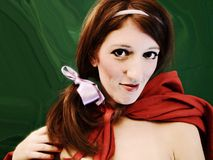 Little Red Riding Hood twisty Royalty Free Stock Images