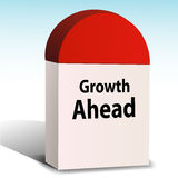 Growth ahead Royalty Free Stock Images
