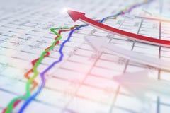 The growth of the arrow Stock Photos