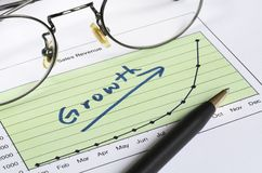 Growth in business Stock Photos