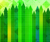 Growth Business Chart Background Royalty Free Stock Photo