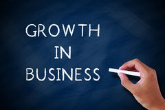 Growth in Business Royalty Free Stock Photo