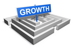 Growth Business Concept Royalty Free Stock Photos