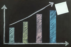 Growth Business graph Stock Photos
