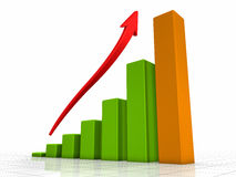 Growth Chart Stock Photography