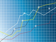 Growth chart Stock Photos
