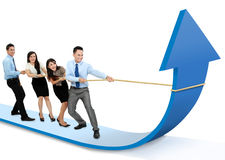 Growth chart concept Stock Photography
