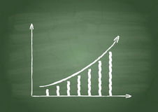 Growth column Royalty Free Stock Photos