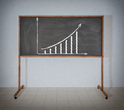Growth column Stock Photo